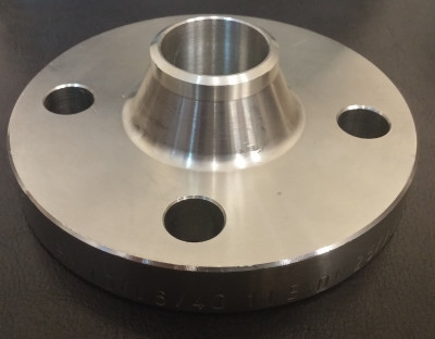 Steel neck flange